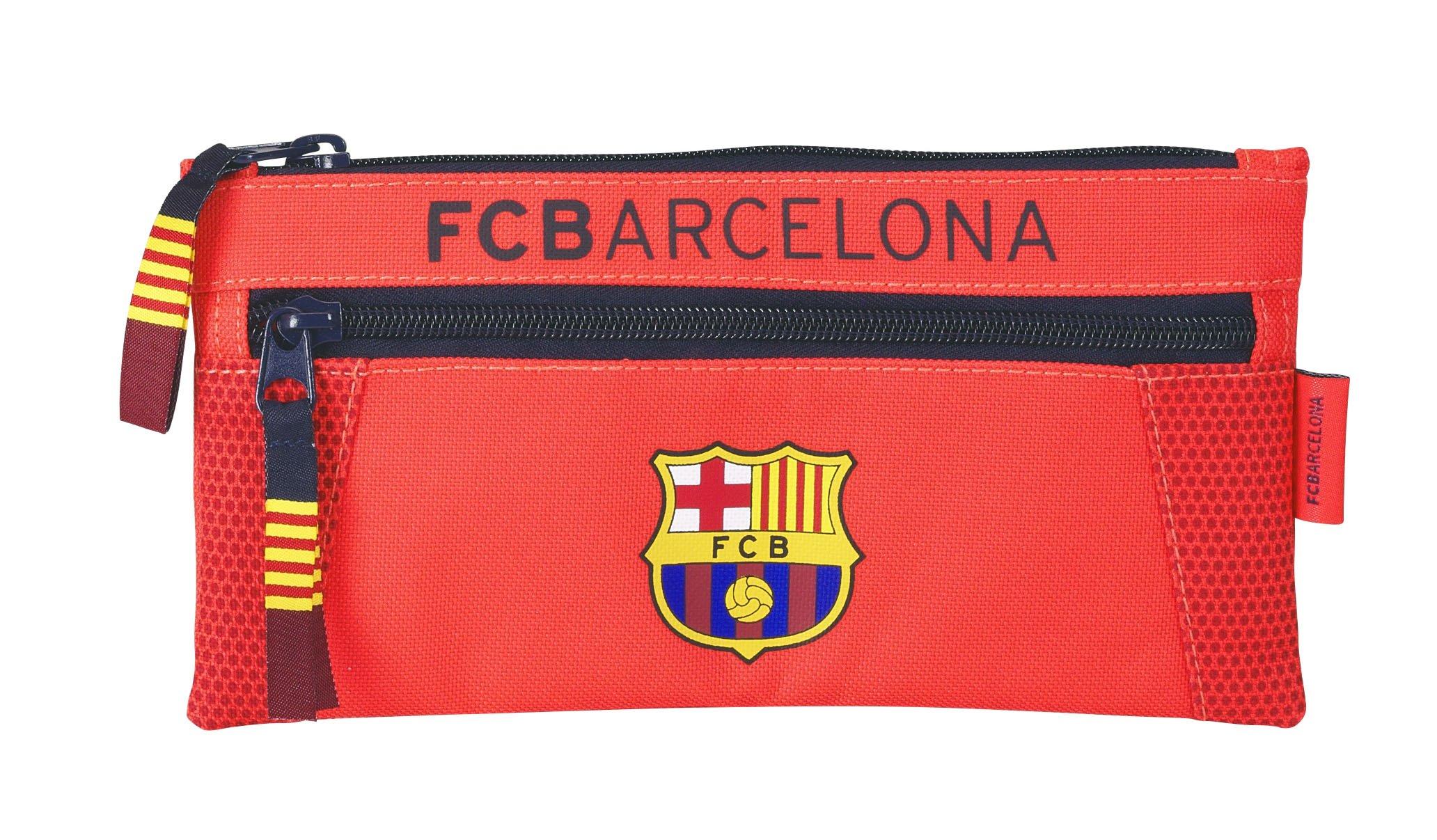 Futbol Club Barcelona – Portatodo dos cremalleras (Safta 811462029)