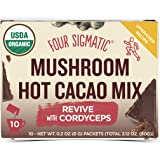 Four Sigmatic Mushroom Cordyceps Hot Cacao Drink Mix (10 Sachets)