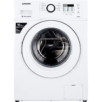 Samsung 6 kg Fully-Automatic Front Loading Washing Machine (WF600B0BTWQ, White)