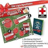 Geschenk-Set: Die Liga-Apotheke für FCN-Fans | 3X süße Schmerzmittel für Nürnberg Fans | Die besten Fanartikel der Liga, Besser als Trikot, Home Away, Saison 18/19 Jersey