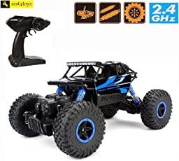Zest 4 Toyz Rock Through Crawler 1:18 Scale 4Wd Rally Car - The Mean Machine