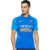 NIKE Official 2019 Team India One Day/ODI Cricket Stadium Shirt/Jersey - Mens