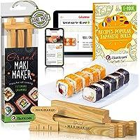 iSottcom Kit Préparation Sushi - Set Sushi Facile Chef et Débutant - Votre Outil Rapide et Professionnel Sushi et Maki…