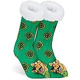 Scooby Doo Calcetines Termicos Mujer, Calcetines Antideslizantes con Forro Polar, Calcetín Termico Mujer, Zapatillas de Estar