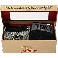 Tokyo Laundry Men's Kodaline Socks and Boxer Gift Set