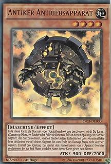 Secret Rare, limitierte Auflage LDS1-DE090 Antike Antriebsfusion Yu-Gi-Oh