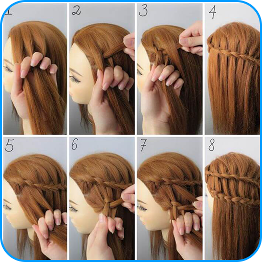 Hairstyle Tutorials For Girls Amazon Co Uk Appstore For Android