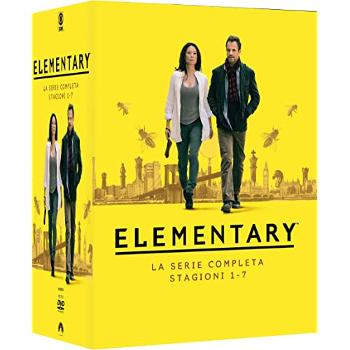 Elementary: Collezione Completa Stagioni 1-7 (Box Set) (39 DVD)