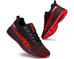 Men Women Running Shoes Sports Trainers Breathable Lightweight Sneakers for Walking Gym Jogging Fitness Athletic Casual