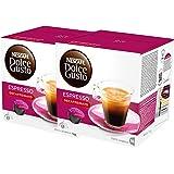 Nescafé Dolce Gusto Espresso Decaffeinato, Paquete de 2, 2 x 16 Cápsulas