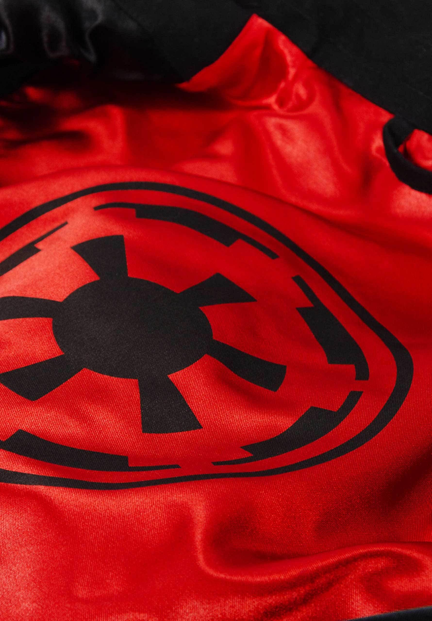 Musterbrand Star Wars Mantel Herren Sith Lord Jacke schwarz