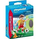 Playmobil - Joueur de Foot et But - 70157