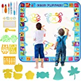 Innoo Tech 100 x 100 CM, Magic Mat - Kids العاب Water Drawing Mat Painting Writing Doodle Board Toy - Color Doodle Drawing Ma