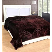 HOMECRUST Blankets Double Bed (Coffee, Double Bed)