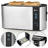Balter Toaster 4 Scheiben ✓ Brötchenaufsatz ✓ Auftaufunktion ✓ Brotzentrierung ✓ Krümelschublade ✓ Edelstahlgehäuse…