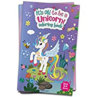 It's Ok To Be A Unicorn Coloring book - Giant book series: Jumbo Sized Colouring Book For Children