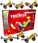 SARTHAM Kid's Mechanical Construction Toy Kit, 6+ Years (Multicolour)
