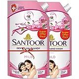 Santoor Hand Wash Mild 750ml