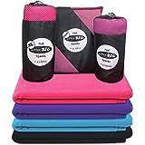 Asciugamano in Microfibra con Asciugatura Rapida in 6 Colori alla Moda - Little Big Towel di Dimensioni perfette