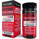 KetoLabs Keton Teststreifen | Genaue Messung Ketose in 15 Sekunden | Entwickelt für Ketogenic und Low Carb Diäten | 100 Streifen