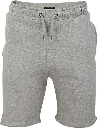 Brave Soul Mens Jogger Shorts Cotton Sports Training Summer Gym Pants