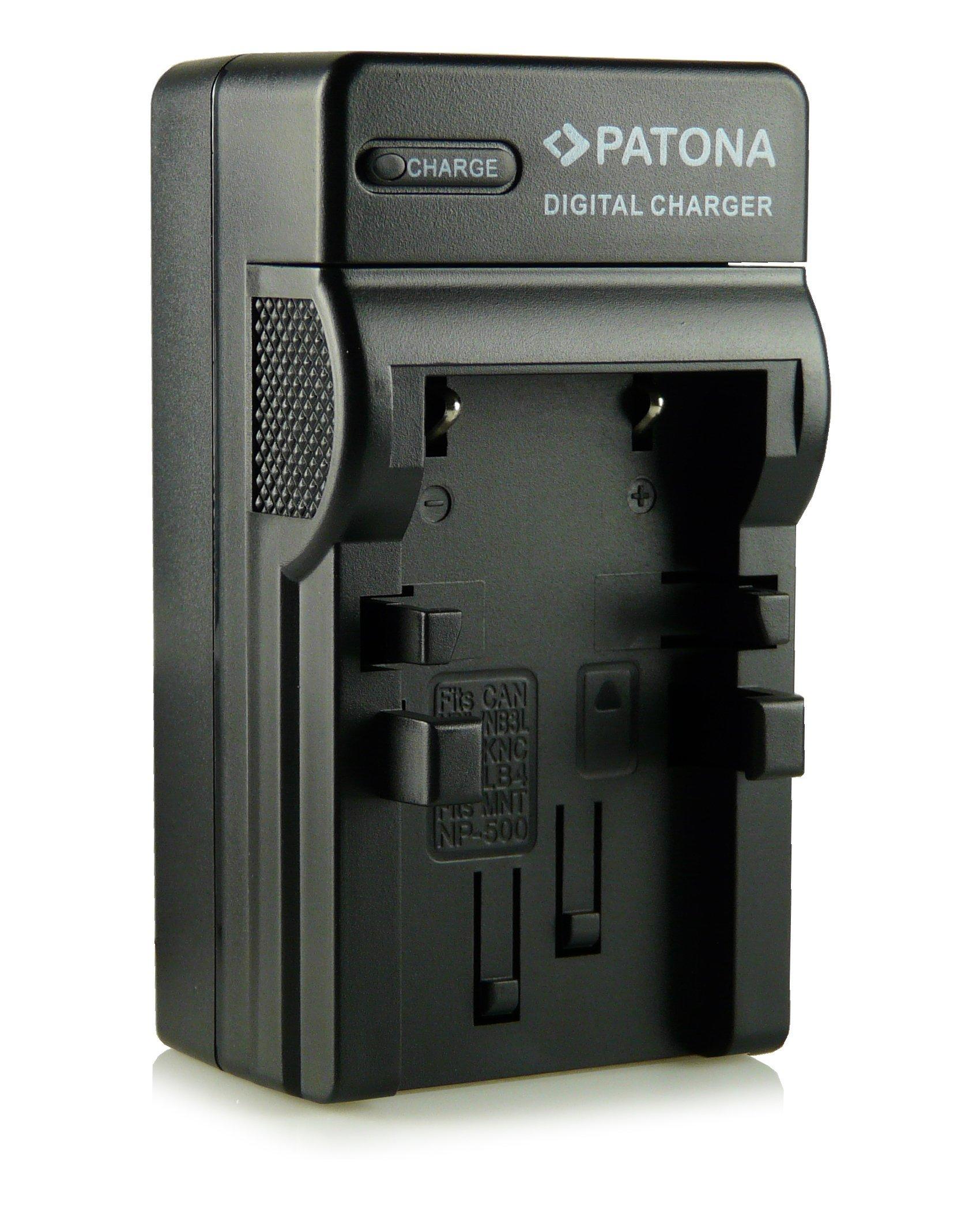 3in1 Caricatore NB-1LH per Canon Digital IXUS 330 | 400 | 430 | 500 | V | V2 | V3 | PowerShot Digita