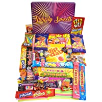 Simply Sweets Retro Sweet Hamper Gift Box. Packed with The Best Retro Sweet. A Perfect Present for Birthdays, Get Well…