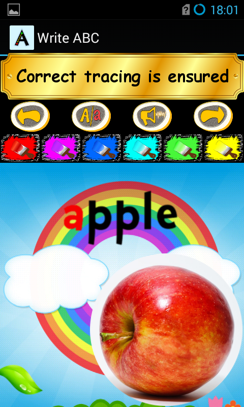 schreiben ABC Lernen Alphabete - 6