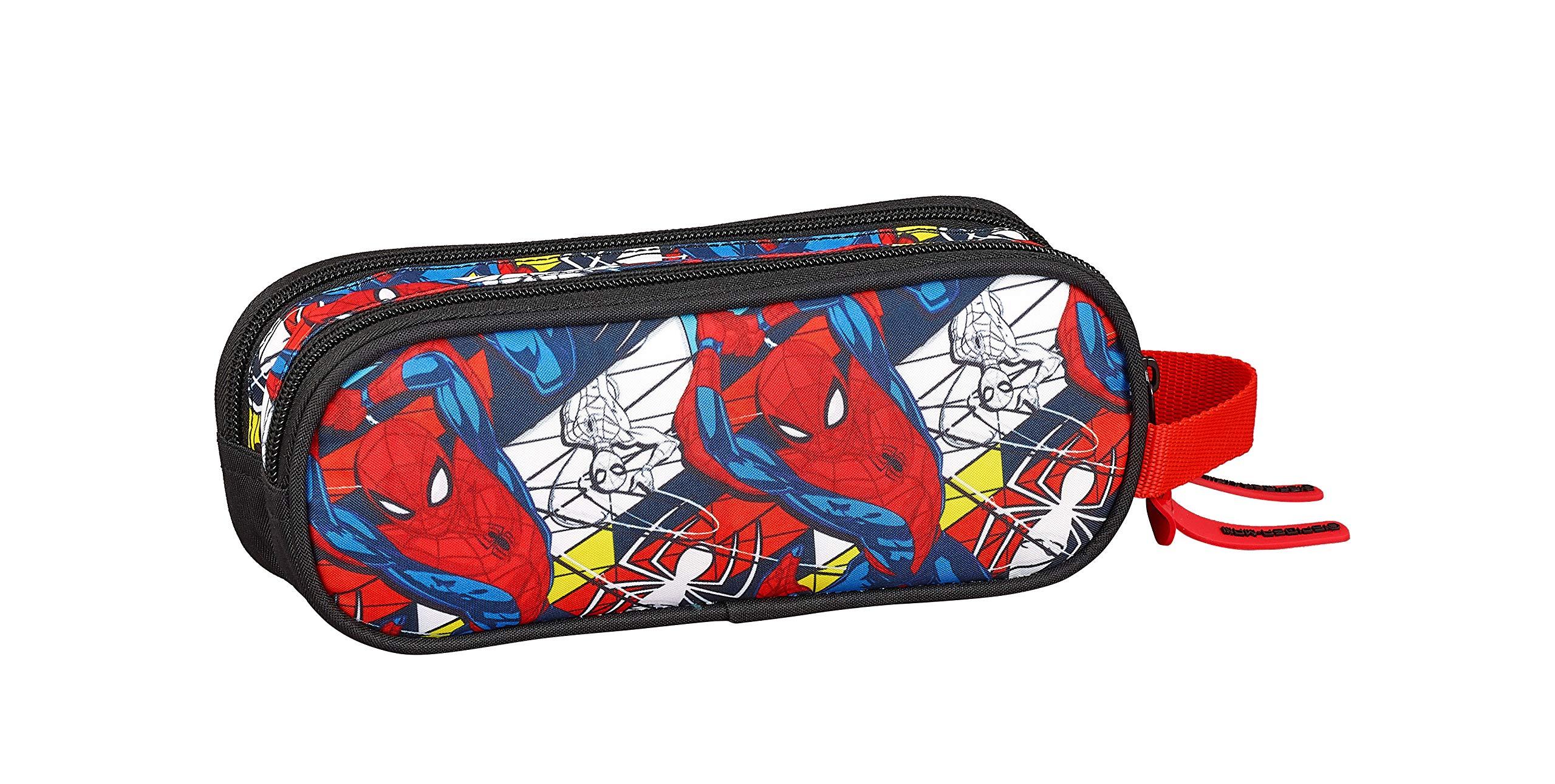 Spiderman «Super Hero» Oficial Estuche Escolar 210x60x80mm