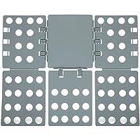 SONGMICS 3. Generation einstellbar Wäsche Faltbrett Falthilfe A4 Flip & Fold Kunststoff 57 x 68 cm