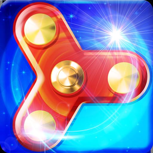 Super Hand Spinner Spiel Schwänze Spin