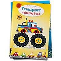 Transport Colouring Book (Giant Book Series): Jumbo Sized Colouring Books (Giant Colouring Book Series)