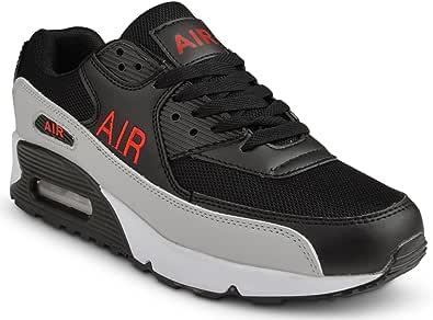Scarpe da ginnastica da uomo che assorbono gli urti, per corsa, jogging, palestra, fitness, taglie 38-44