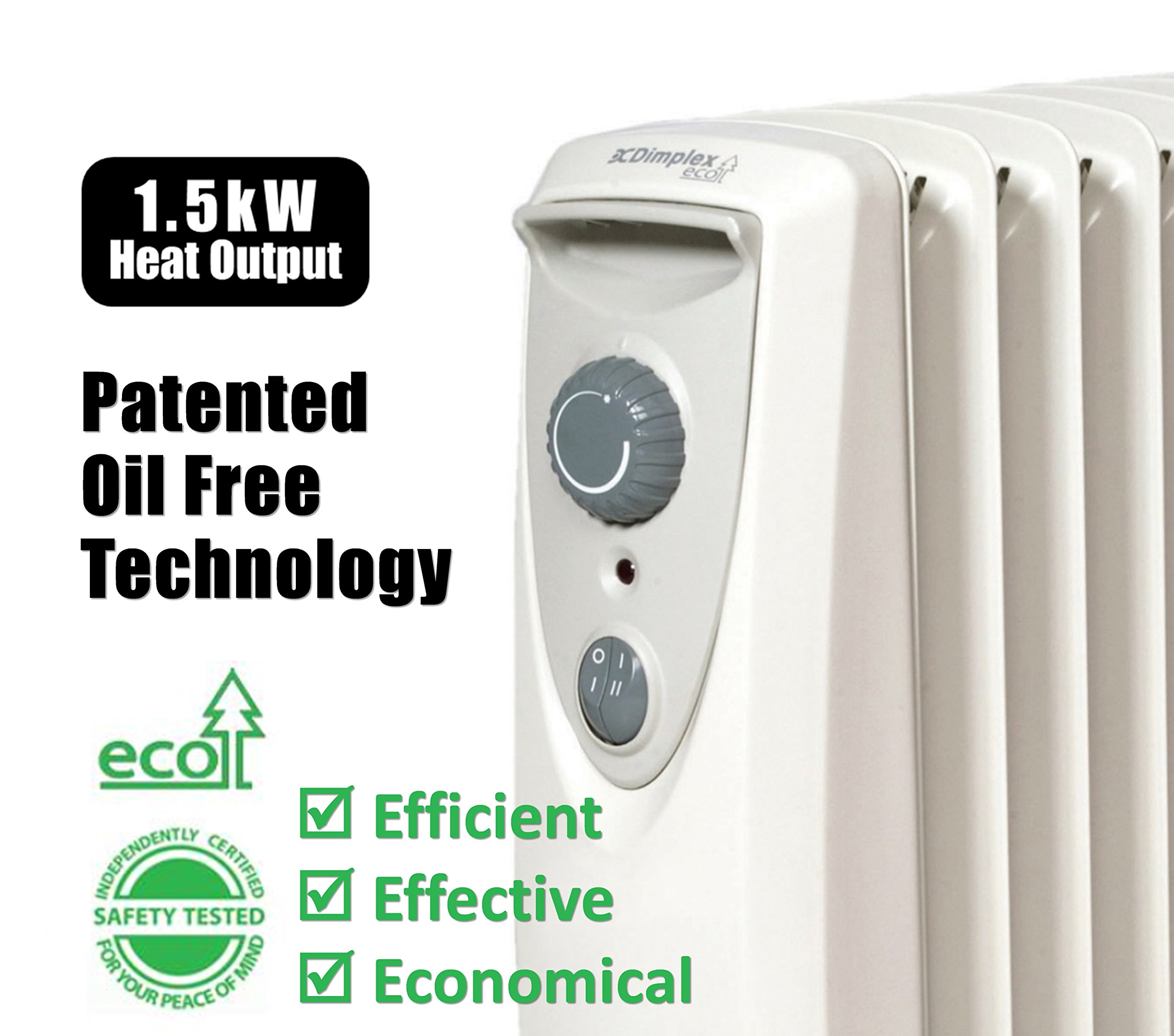 OFRC15N Oil Free Electric Heater