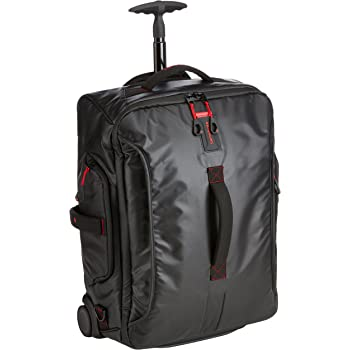 e0a6f41e650d Samsonite Paradiver Light Duffle on Wheels 55cm Backpack Black