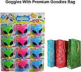 Brown Leaf Kids Goggles Cartoon Design Sunglasses Best Birthday Return Gifts Kids Favourite Googles Party Supply Gift Item