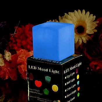 PK Green Colour Changing LED Cube Mood Light