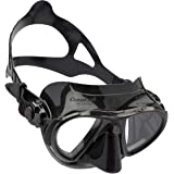 Cressi Nano - Professional Scuba and Free Diving Mask - Soft SiliconeCrystal or Black