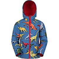 Mountain Warehouse Exodus Kids Softshell Jacket - Breathable Childrens Jacket, Water Resistant Girls Coat, Fleece Lined…