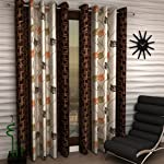Selective Premium Faux Silk Heavy Quality Curtains Set of 2