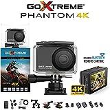 Easypix GoXtreme 'Phantom' 4K Action Cam mit Webcam-Funktion, 170째 Weitwinkel, WiFi, Bluetooth, 40 m wasserfest, 20155