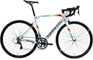 Sunpeed Mars 48size aluminum Road bike with carbon fork racing bicycle shimano Clairs Groupset