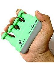 airavat Adjustable Finger Exercise Grip Builder (Green)