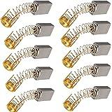 10 st. kolborstar motorkolborstar, kolpennor, kolborstar för elmotorer, 13 mm x 8 mm x 5 mm motorkolborstar för Power Tool