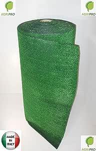 Gazon Synthétique 1 X 5 M Résistant 7 Mm Vert