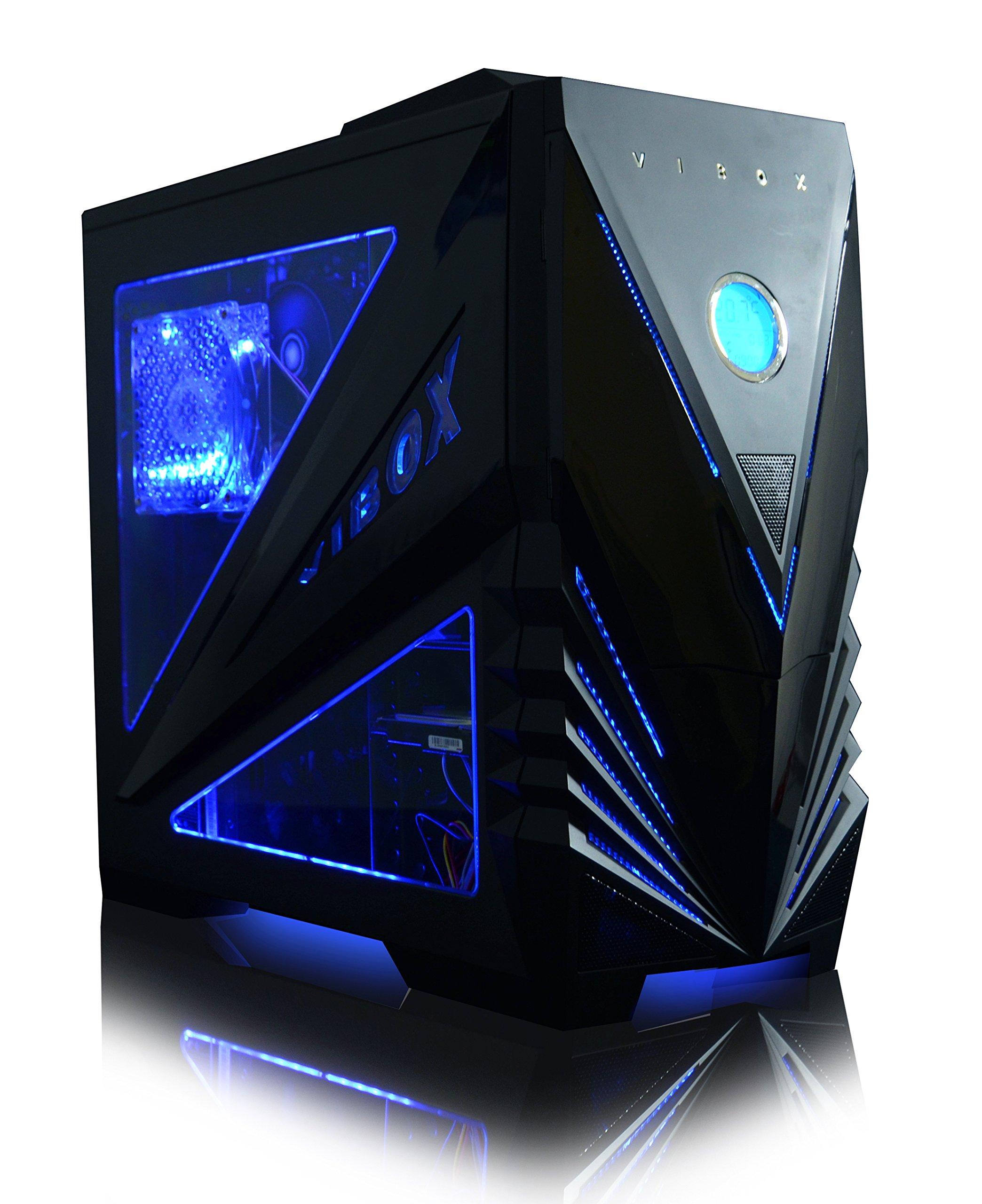 Vibox Legend 26 Gaming-PC Computer mit 2 Gratis-Spielen, Windows 10 OS, 27 Zoll HD Monitor (4,4GHz AMD Ryzen 6-Core…