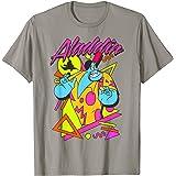 Disney Aladdin Genie In A Shirt Retro Abstract T-Shirt