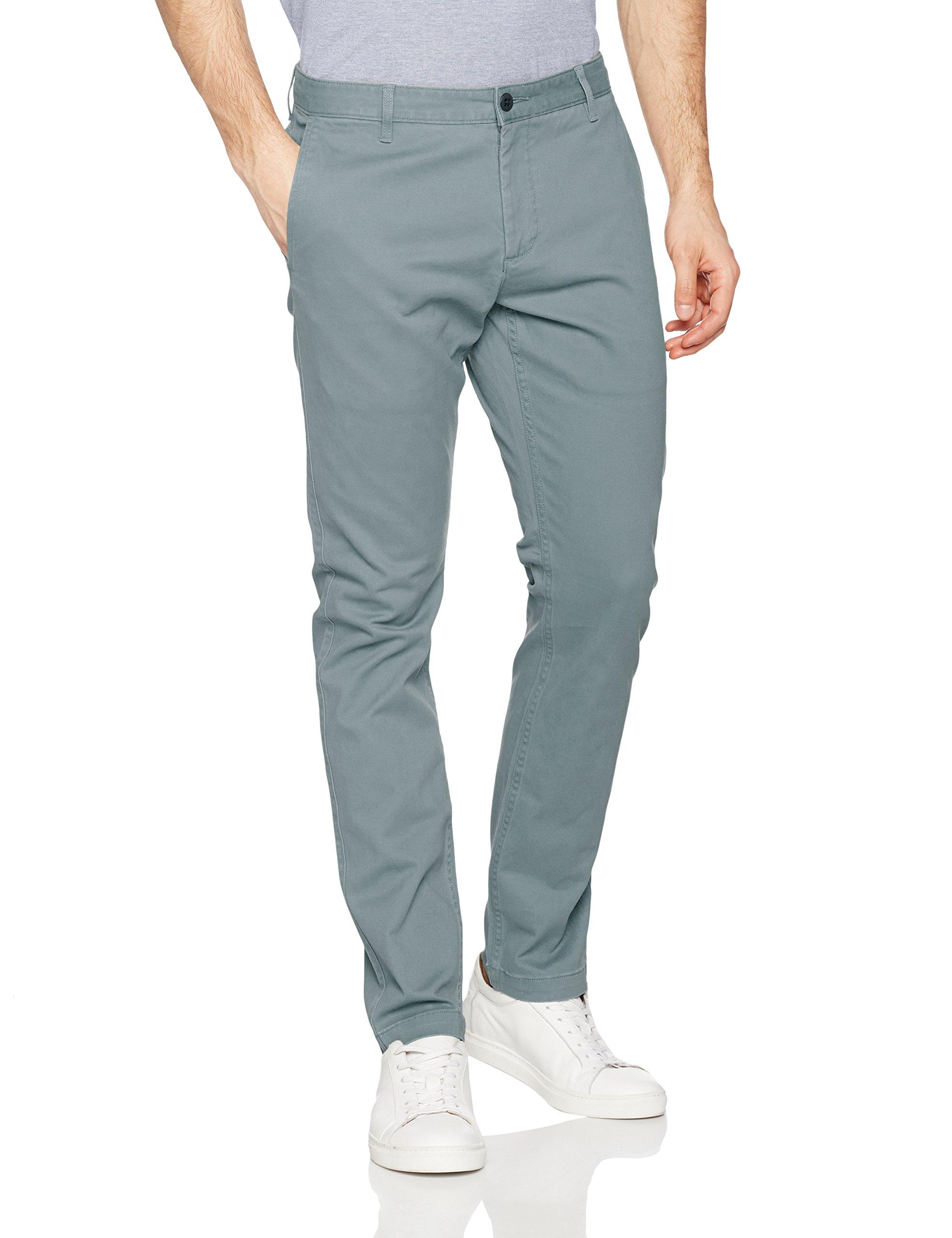 Ofertas Dockers Washed Khaki Skinny Stretch Twill Pantalones Para Hombre Moda Ofertastop
