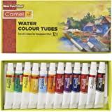 Camel Camlin Kokuyo Student Water Color Tube - 5ml Each, 12 Shades