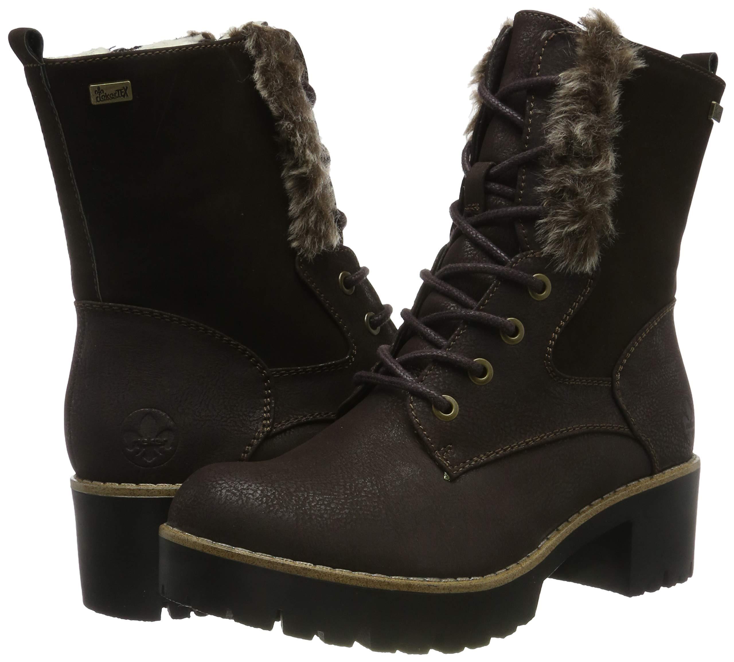 Rieker Women's Herbst/Winter Ankle Boots 12